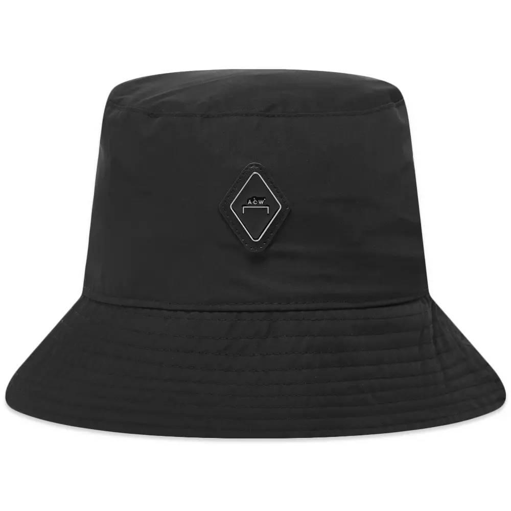 A-COLD-WALL Diamond Bucket Hat Black