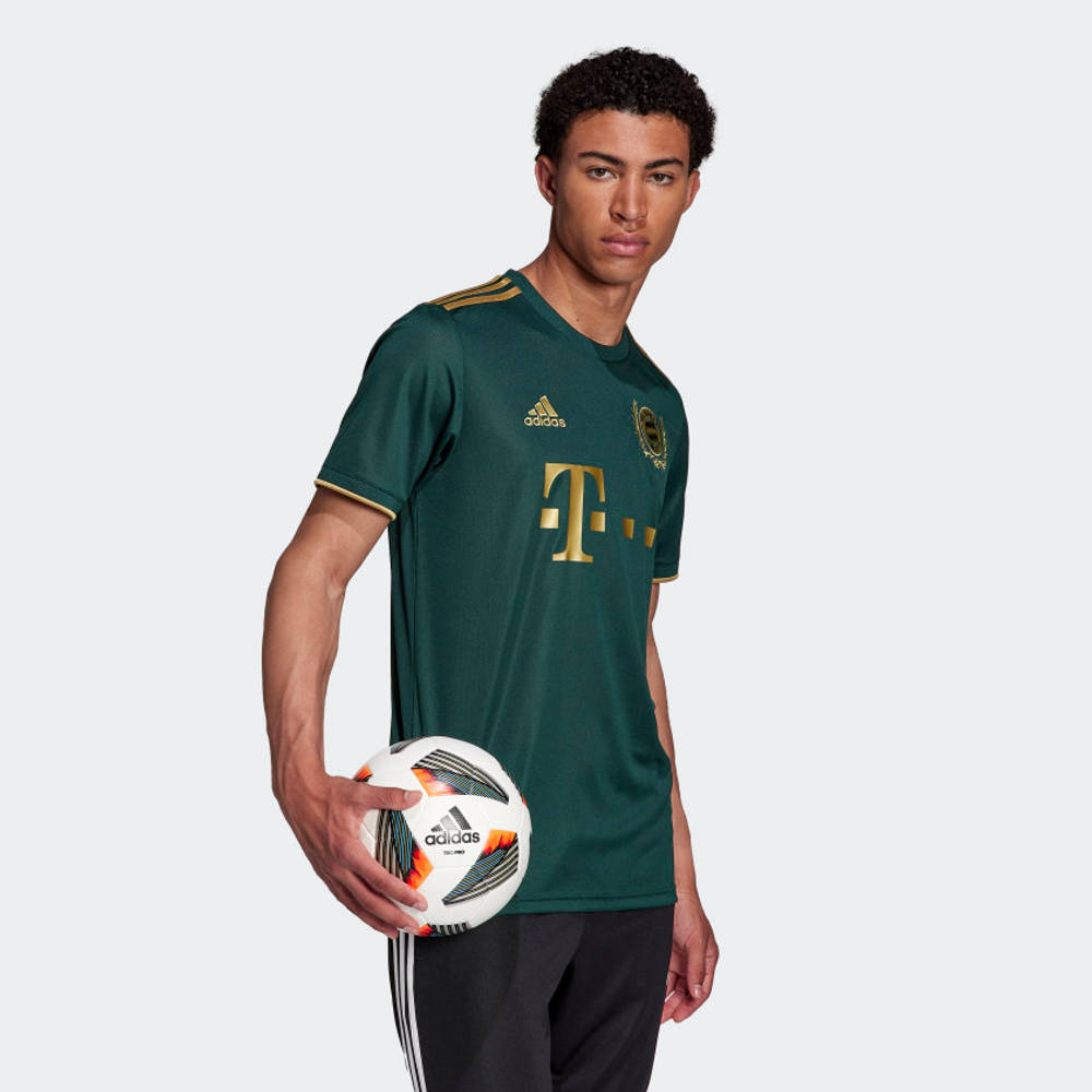 adidas FC Bayern 21-22 Wiesn Football Jersey HF0253 Side