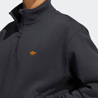 adidas Heavyweight Shmoofoil 1-4 Zip Sweatshirt GR8771 Detail 2