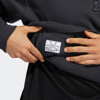 adidas Heavyweight Shmoofoil 1-4 Zip Sweatshirt GR8771 Detail 3