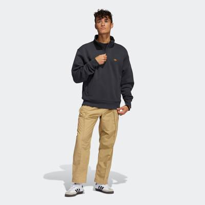 adidas Heavyweight Shmoofoil 1-4 Zip Sweatshirt GR8771 Full