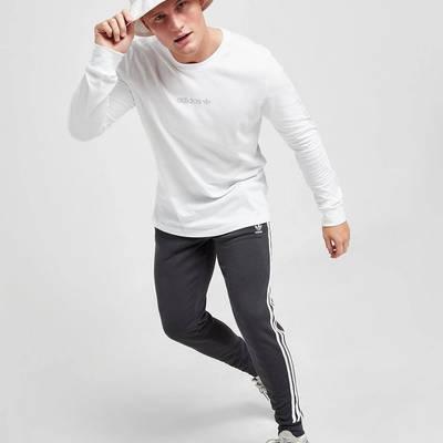 adidas Long Sleeve Outline T-Shirt White Full