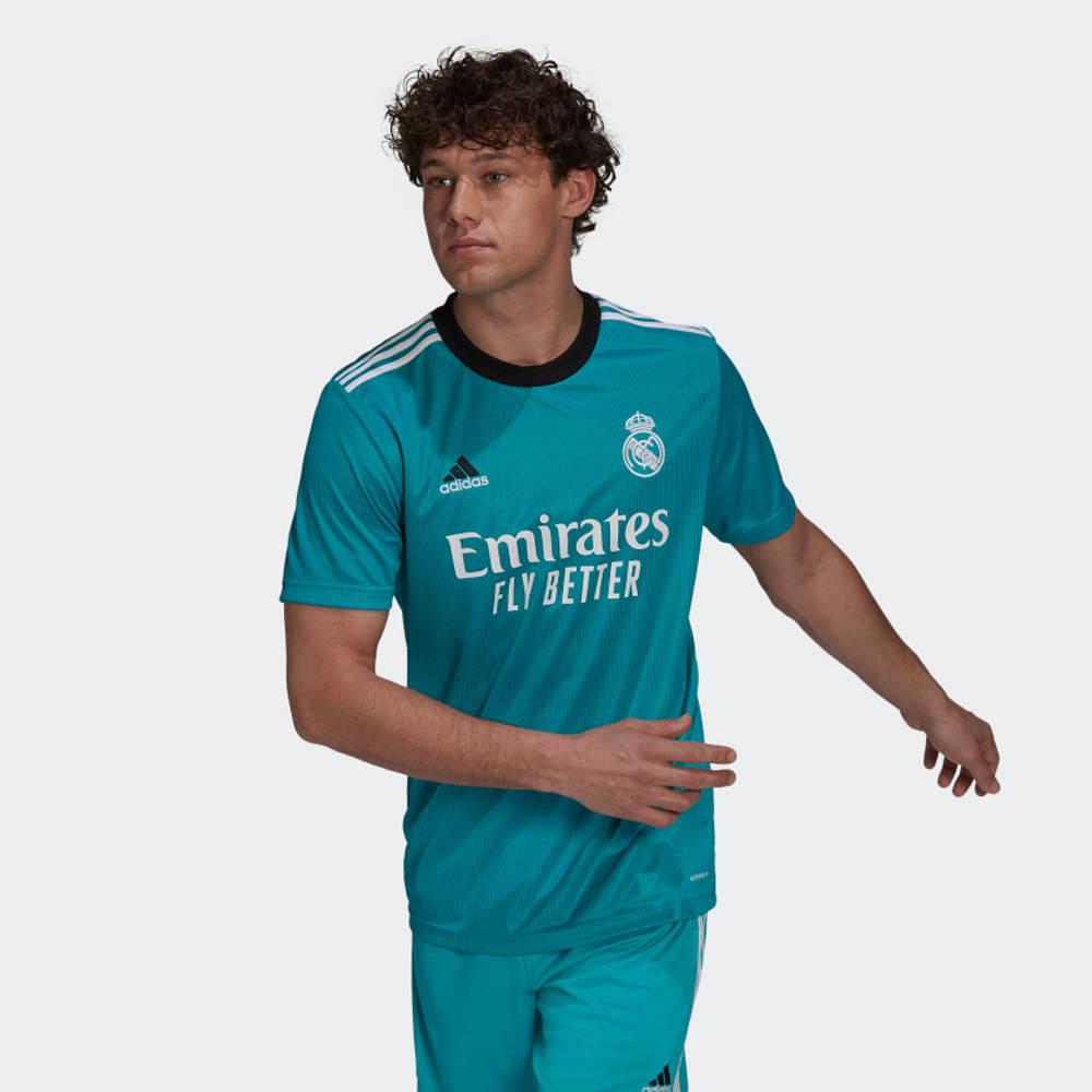 adidas Real Madrid 21-22 Third Football Jersey H40951