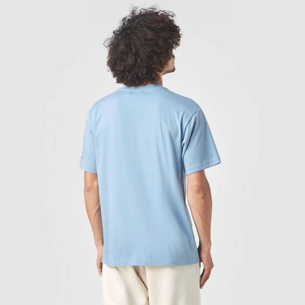 adidas Summer Trefoil T-Shirt Blue Back