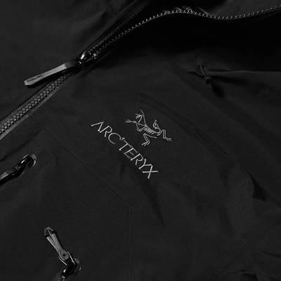 Arc'teryx Beta SV 3L Gore-Tex Jacket Black Detail 2