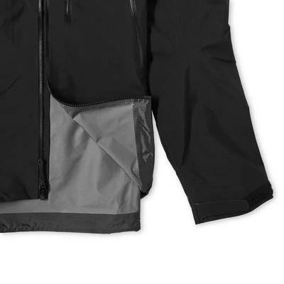 Arc'teryx Beta SV 3L Gore-Tex Jacket Black Detail