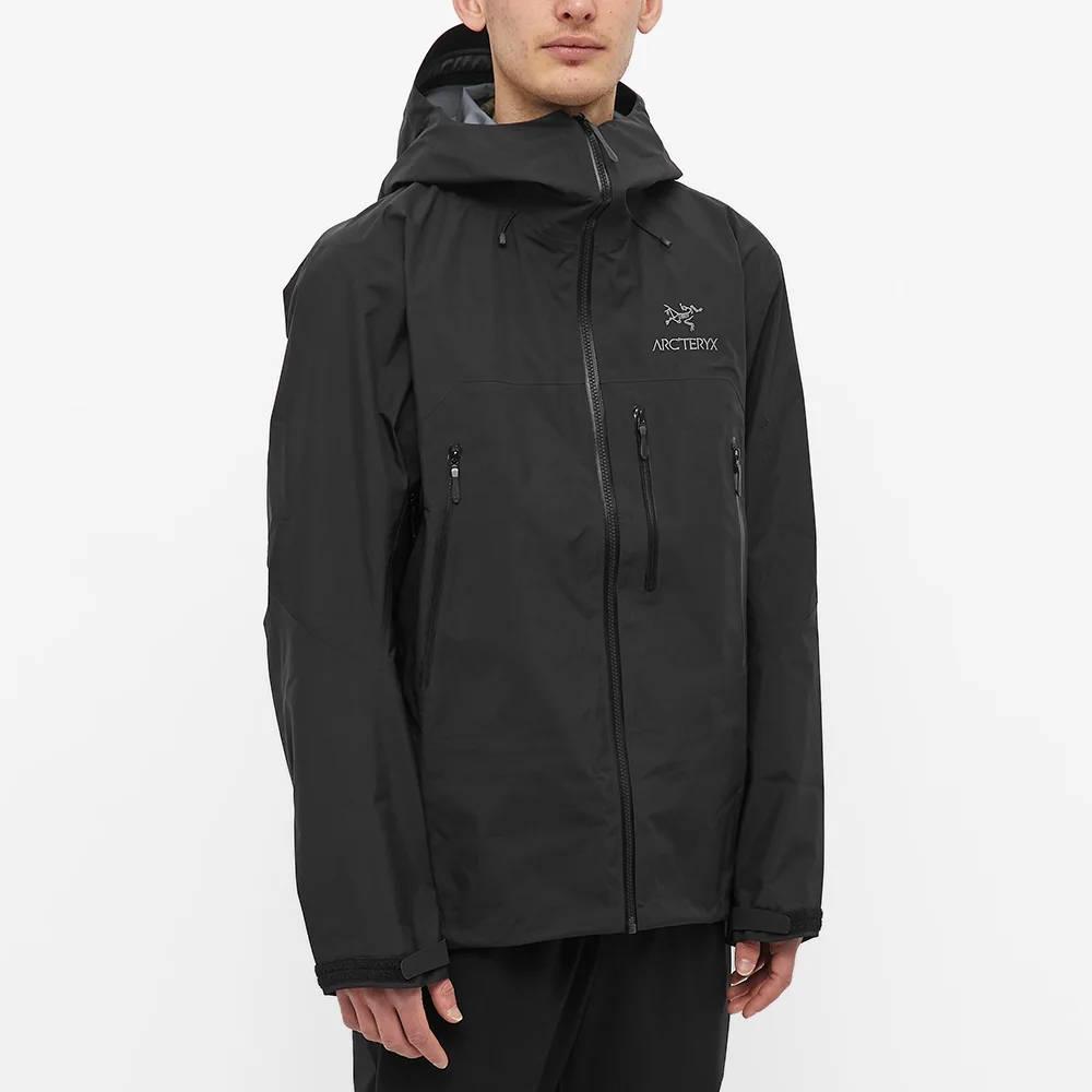 Arc'teryx Beta SV 3L Gore-Tex Jacket Black Front