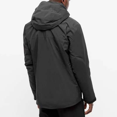 Arc'teryx Fission SV 2L Gore-Tex Jacket Black Back