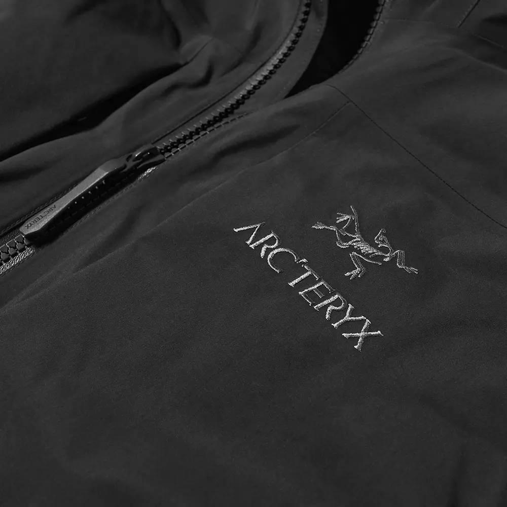 Arc'teryx Fission SV 2L Gore-Tex Jacket Black Detail 2