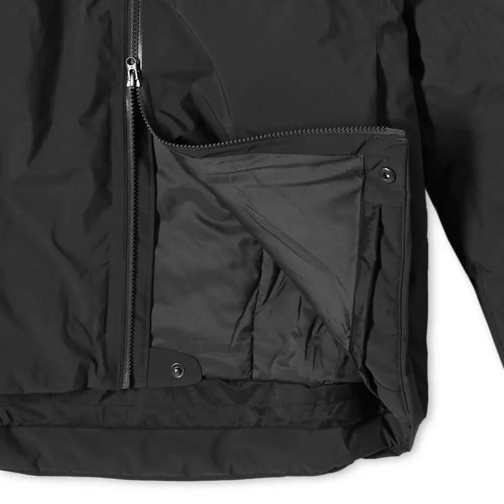 Arc'teryx Fission SV 2L Gore-Tex Jacket Black Detail