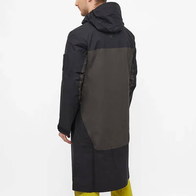 Arc'teryx System A Dume Coat Black Ash Back
