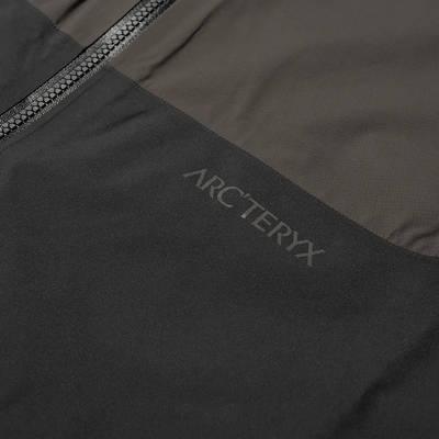 Arc'teryx System A Dume Coat Black Ash Detail 2
