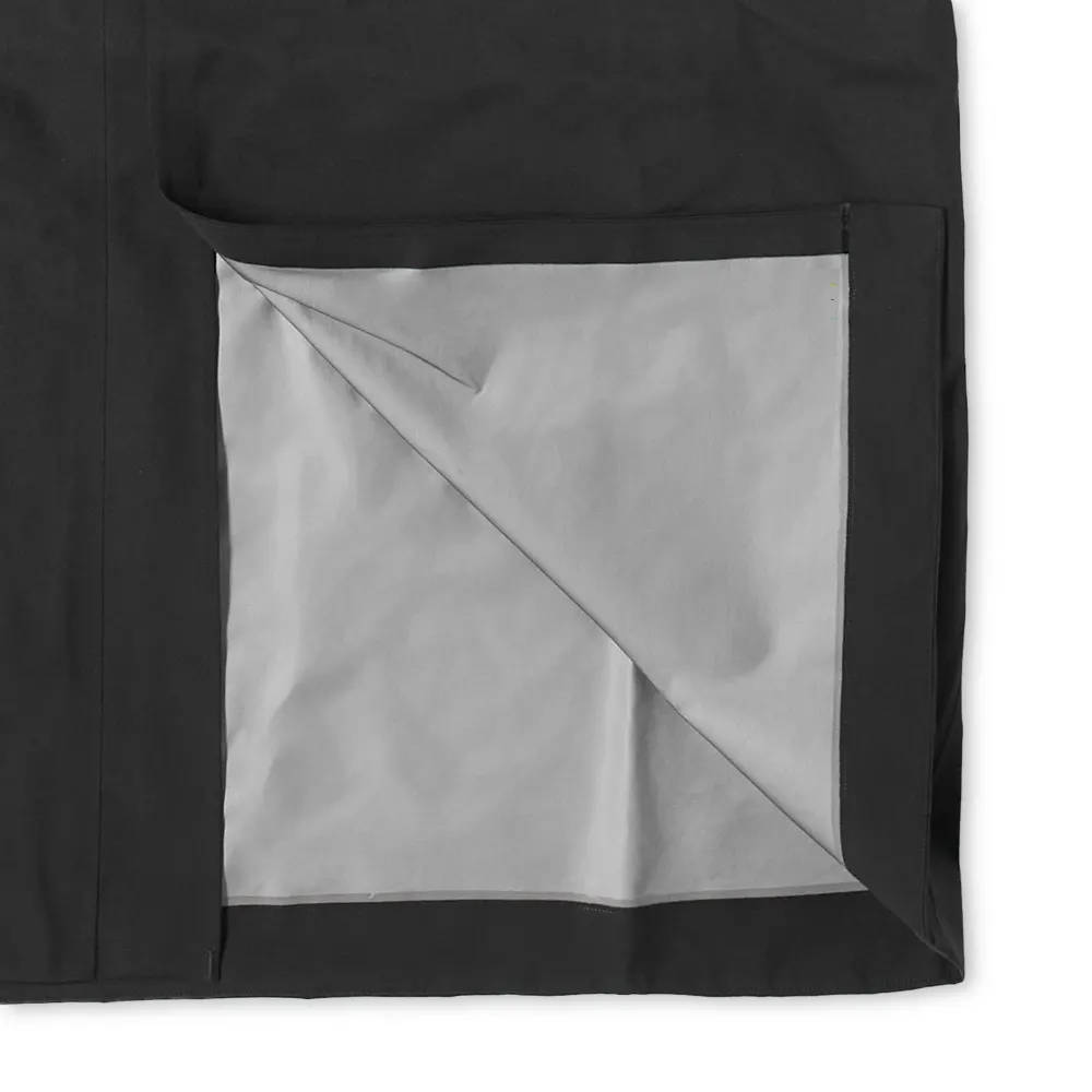 Arc'teryx System A Dume Coat Black Ash Detail