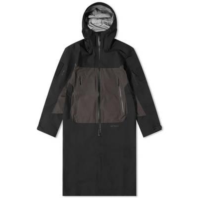 Arc'teryx System A Dume Coat Black Ash