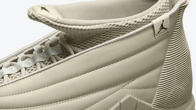 Billie Eilish x Air Jordan 15 Beige Side Closeup