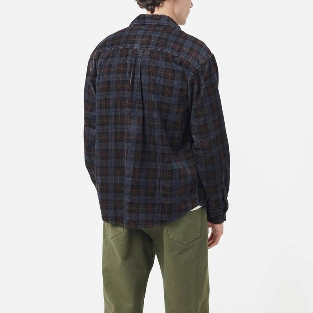 Carhartt Flint Cord Check Shirt Multi Back
