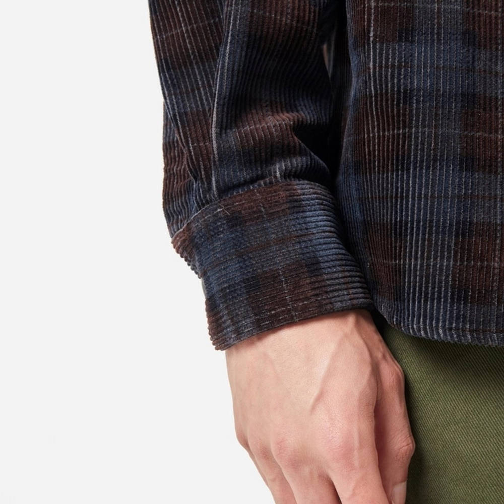Carhartt Flint Cord Check Shirt Multi Detail 2