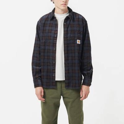 Carhartt Flint Cord Check Shirt Multi Front