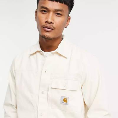 Carhartt WIP Charter Utility Shirt White Detail