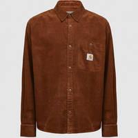 Carhartt WIP Long Sleeve Flint Shirt Brown