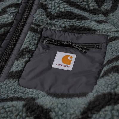 Carhartt WIP Prentis Pullover Hoodie Deep Freeze Jacquard Detail