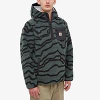 Carhartt WIP Prentis Pullover Hoodie Deep Freeze Jacquard Front