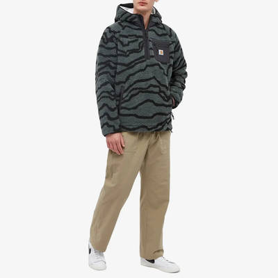 Carhartt WIP Prentis Pullover Hoodie Deep Freeze Jacquard Full