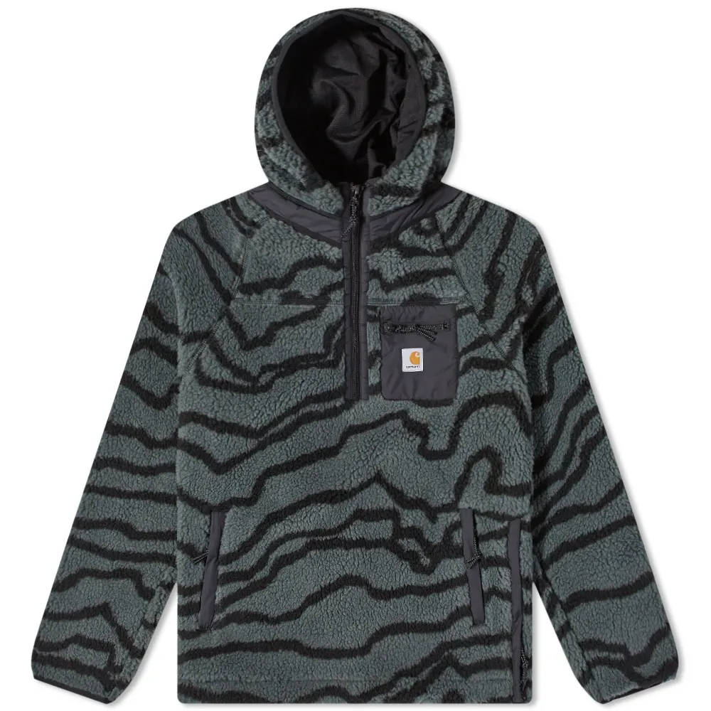 Carhartt WIP Prentis Pullover Hoodie Deep Freeze Jacquard
