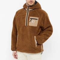 Carhartt WIP Prentis Pullover Hoodie Tawny Front