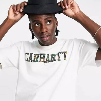 Carhartt WIP Script Bucket Hat Black Full