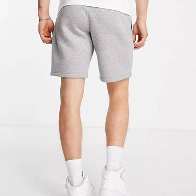 Champion Large Logo Shorts Grey Back