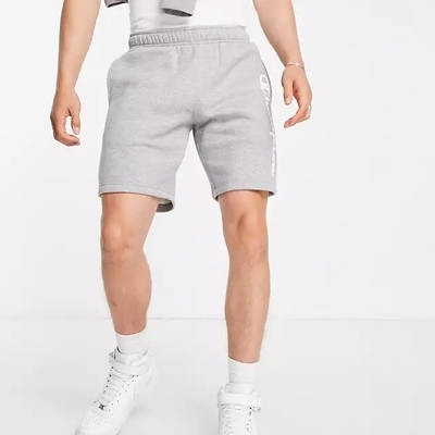 Champion Large Logo Shorts Grey