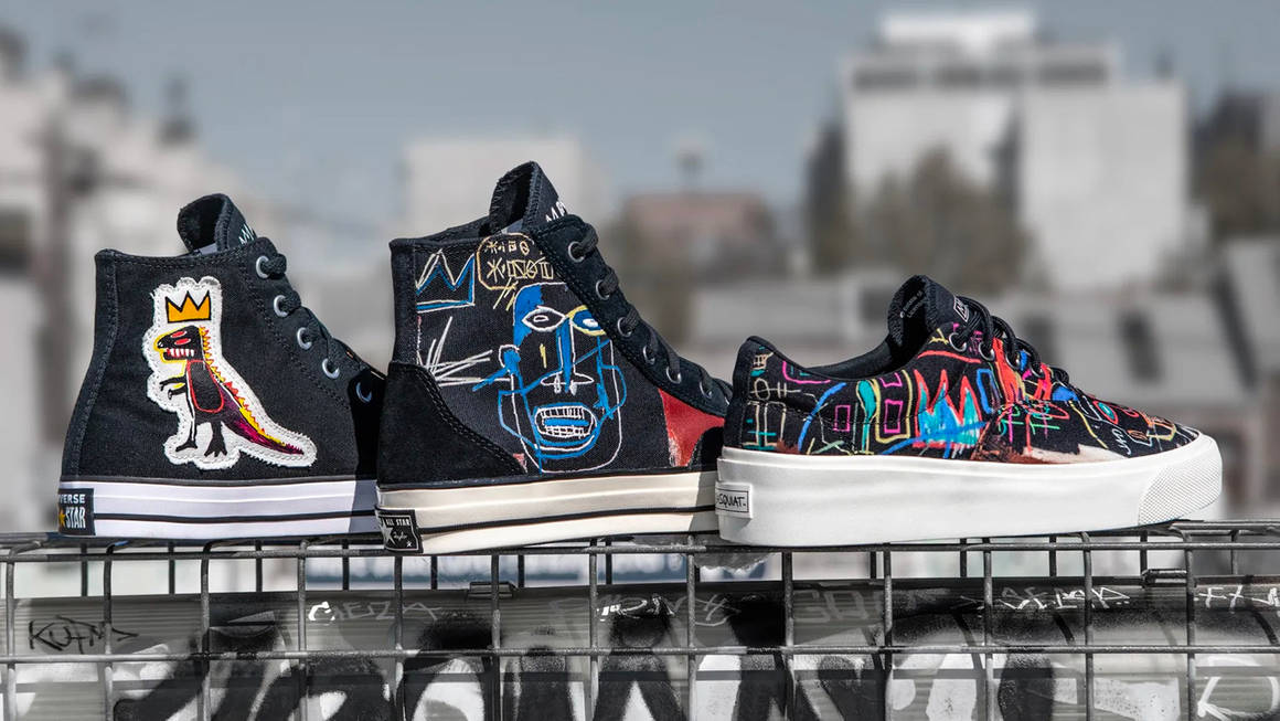 Jean-Michel Basquiat x Converse Collection