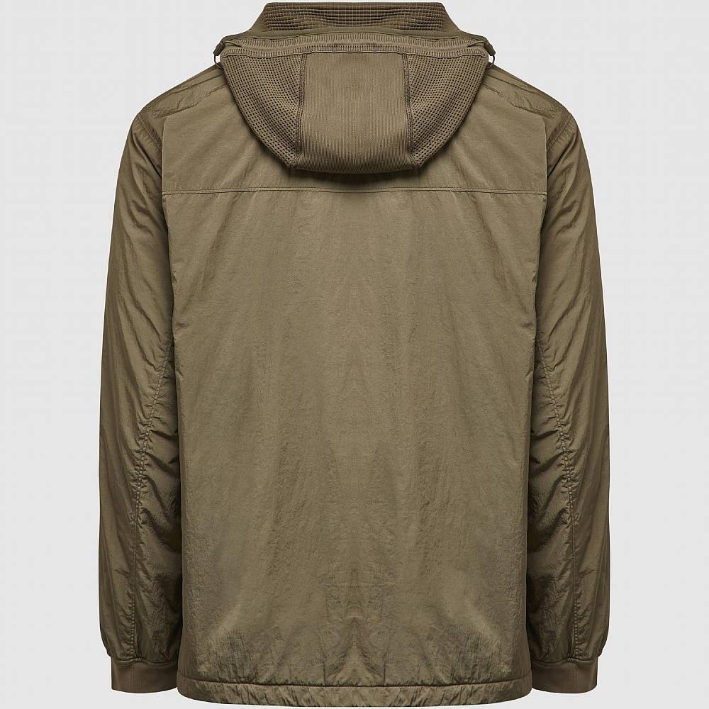 C.P. Company Metropolis Chrome-R Overshirt Khaki Back