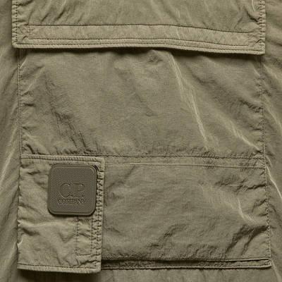 C.P. Company Metropolis Chrome-R Overshirt Khaki Detail 2