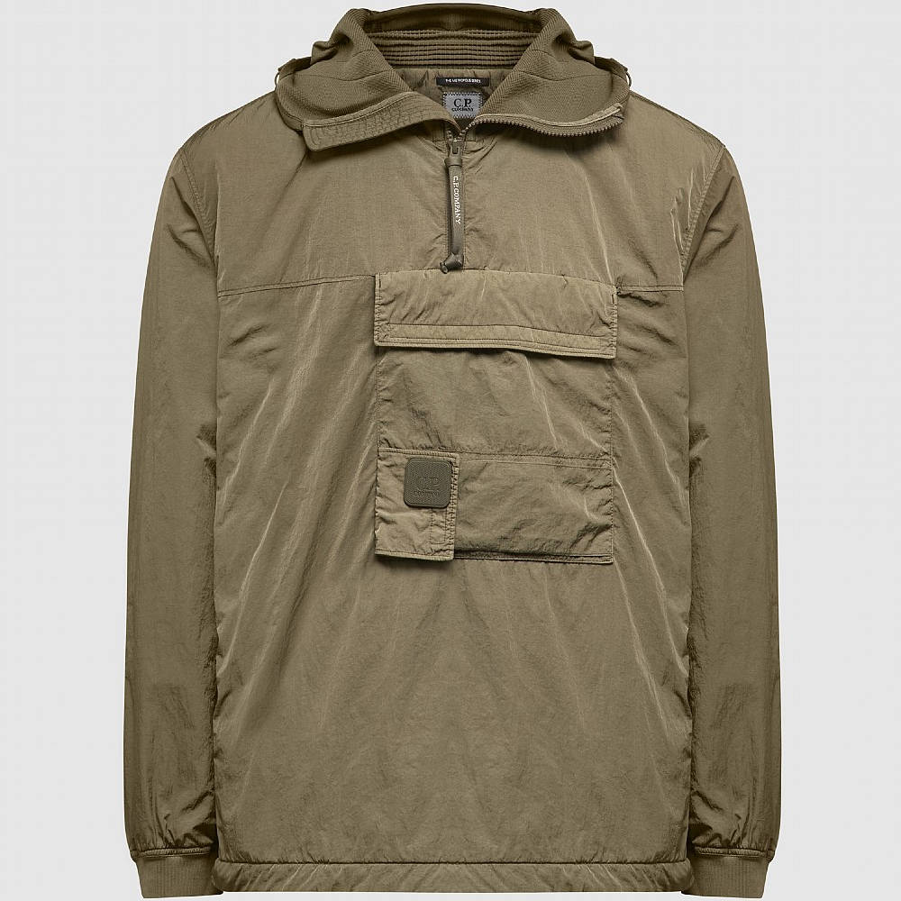 C.P. Company Metropolis Chrome-R Overshirt Khaki