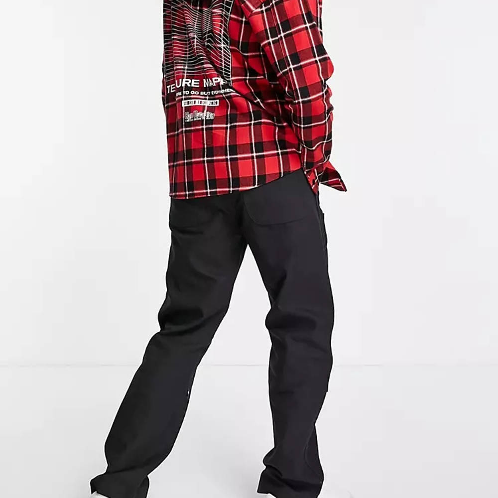 Dickies DC Utility Trousers Black Back