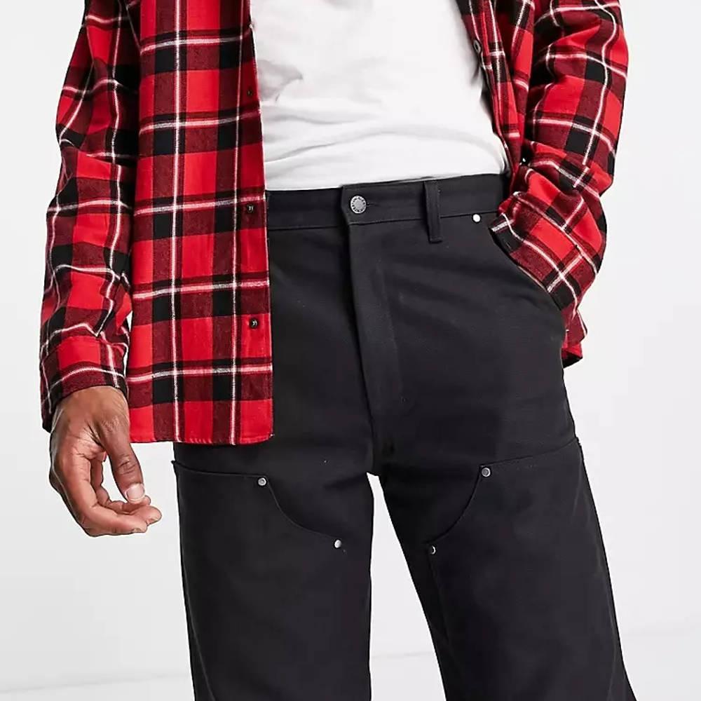 Dickies DC Utility Trousers Black Detail