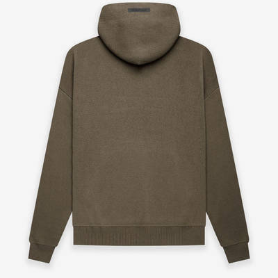 Fear of God ESSENTIALS Summer Knitted Hoodie Harvest Back