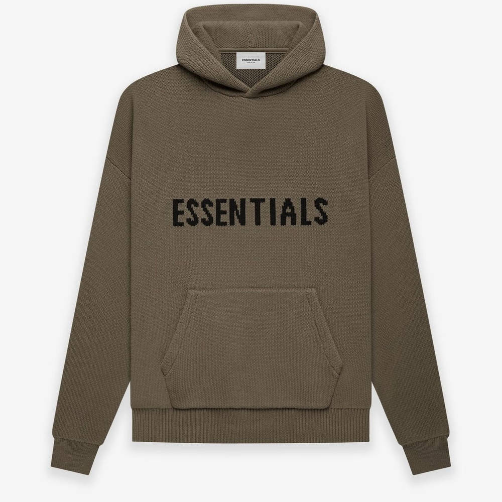 Fear of God ESSENTIALS Summer Knitted Hoodie Harvest