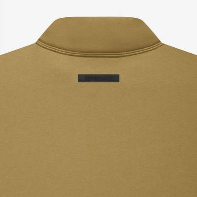 Fear of God ESSENTIALS Summer Mock Neck Sweatshirt Amber Detail 2