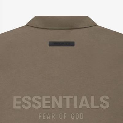 Fear of God ESSENTIALS Summer Polo T-Shirt Harvest Detail 2