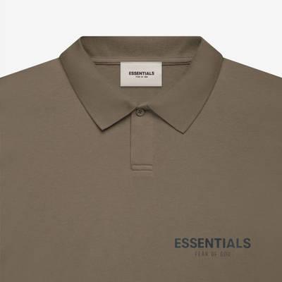 Fear of God ESSENTIALS Summer Polo T-Shirt Harvest Detail