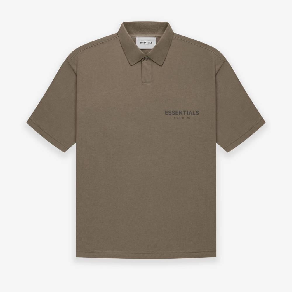 Fear of God ESSENTIALS Summer Polo T-Shirt Harvest