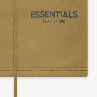 Fear of God ESSENTIALS Summer Sweatshort Amber Detail 2
