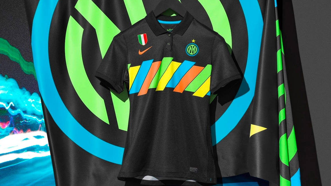 Inter Milan Get Colourful With This 2021/22 Third Kit