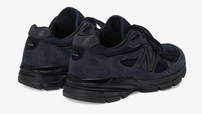 JJJJound x New Balance 990v4 Navy Back