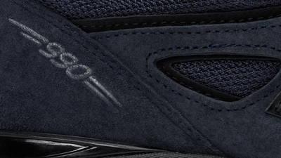 JJJJound x New Balance 990v4 Navy Detail 2