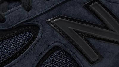 JJJJound x New Balance 990v4 Navy Detail 3