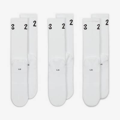Jordan Essentials Crew Socks DA5718-100 Back